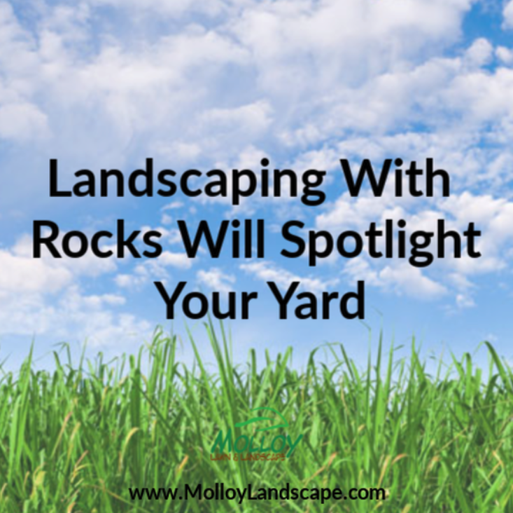 Landscaping With Rocks Will Spotlight Your Yard