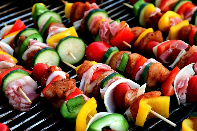 vegetables to grill